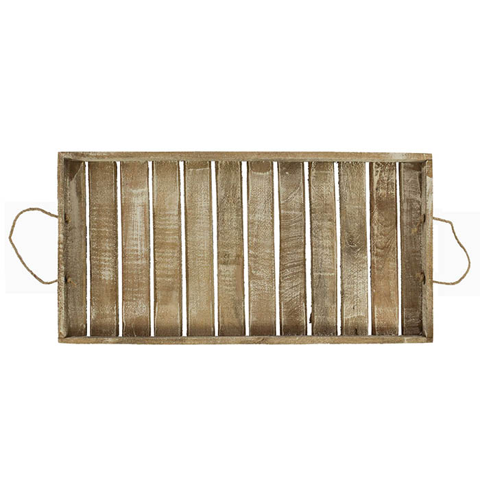 XXL Tablett Holztablett Kerzentablett Holz Shabby Chic Landhaus groß